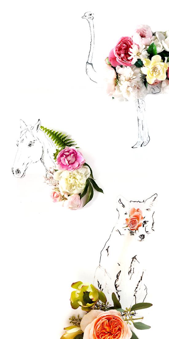 flowers+art